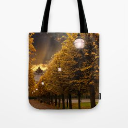 Avenue to the Castle at Windsor Tote Bag