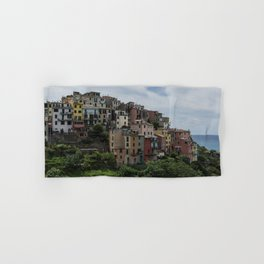 Cinque Terre, Italy panoramic Hand & Bath Towel