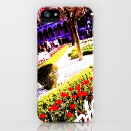 Intense and living colors. iPhone Case