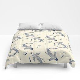Japanese Koi Fish Pattern Comforters