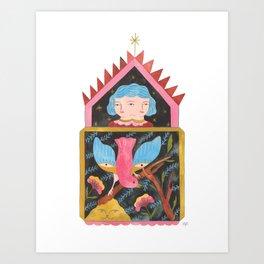 Shrine Art Print