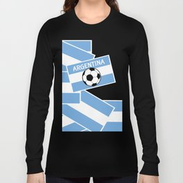 Argentina Football Long Sleeve T-shirt