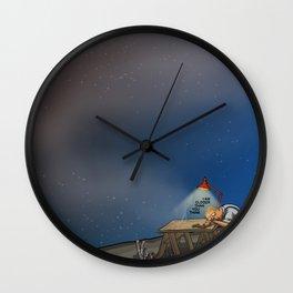 I Am Closer Than You Think Wall Clock