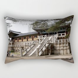 KoreanTemple Rectangular Pillow