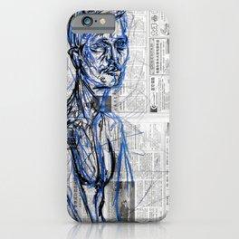 Blue Soul iPhone Case