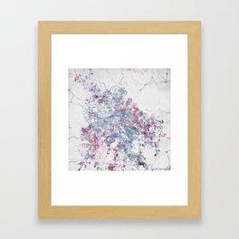 Guadalajara Framed Art Print