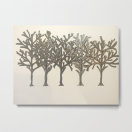 Money Trees Metal Print
