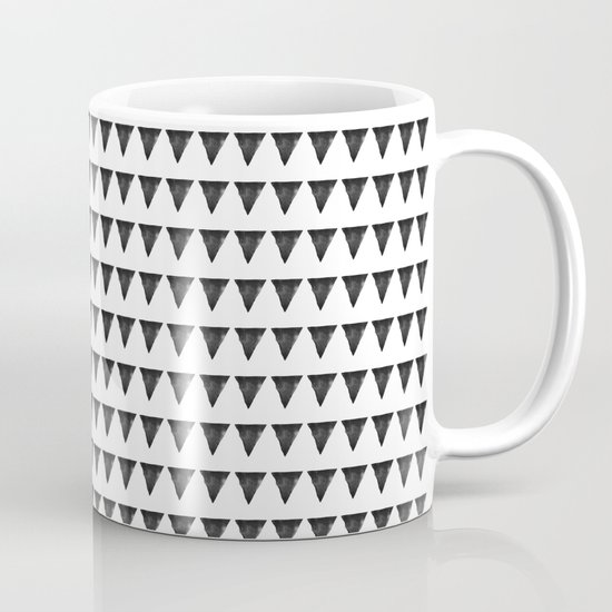 Nordic interior triangles II Mug