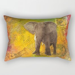 The Elephant in my Dream Rectangular Pillow