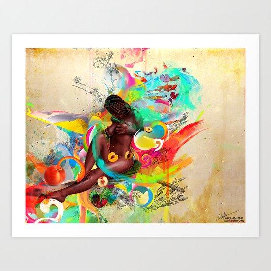 Southern Love Art Print