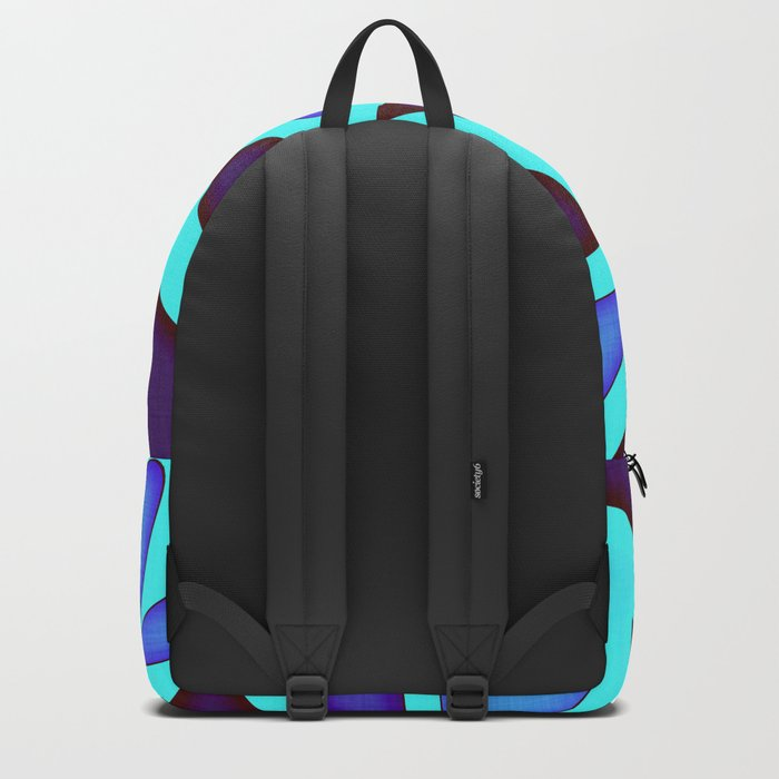 Purple Hearts and Stars Backpack