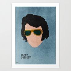 Rock Legends - Elvis Presley Art Print