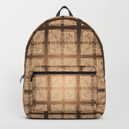 abstract feather pattern II Backpack