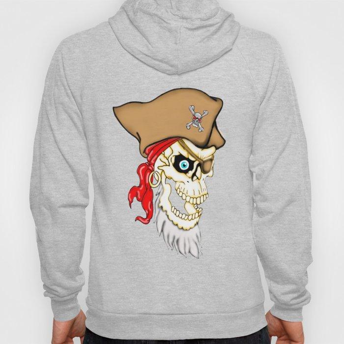 Pirate Skull Hoody