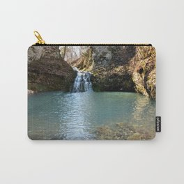Alone in Secret Hollow with the Caves, Cascades, and Critters, No. 2 of 21 Carry-All Pouch