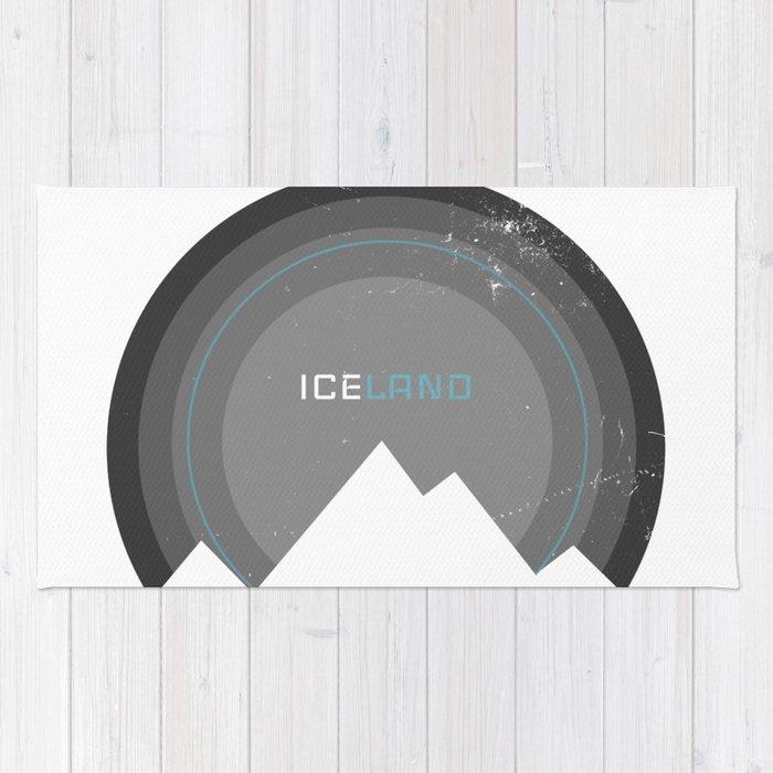iconic iceland Rug