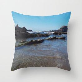 Rippling Tides Throw Pillow
