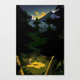 It's The Journey Canvas Print
