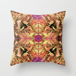 Cutting the Rug Throw Pillow
