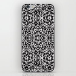 Geometric cobweb iPhone Skin