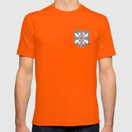 Cervidae Deer Pattern with Heart T-shirt