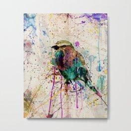 Drippy bird Metal Print