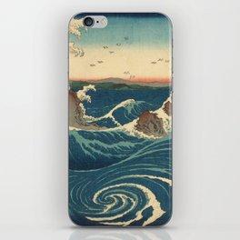 Vintage poster - Japanese Wave iPhone Skin