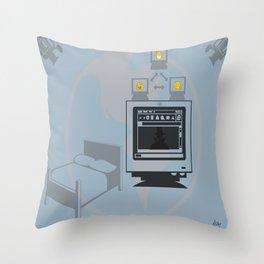 Web Cam World Throw Pillow
