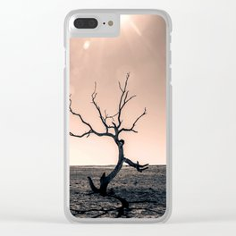 Baptized By Despair Clear iPhone Case