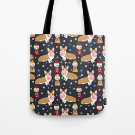 Corgi welsh corgis gumball bubblegum cute dog breed corgis pet gifts Tote Bag