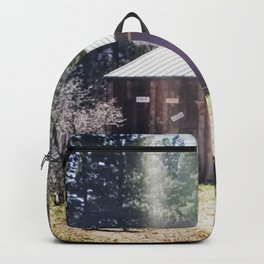 A Little Mountain Paradise Backpack