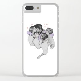 Elvis Love Clear iPhone Case