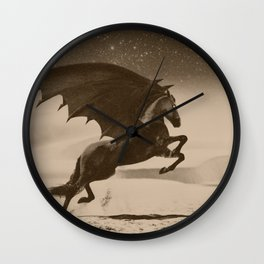 Dark Victorian Portrait Series: A Wonderful Nightmare Wall Clock