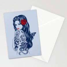 Tattoo Lolita Stationery Cards