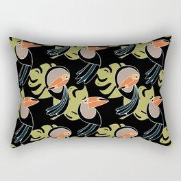 Toucan Up and Down Rectangular Pillow