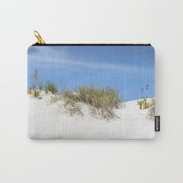 WHITE SANDS Idyllic Panoramic View Carry-All Pouch