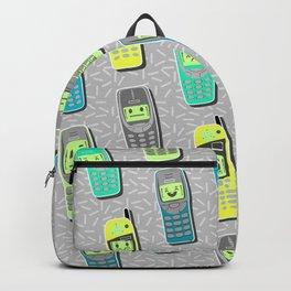 Vintage Cellphone Pattern Backpack