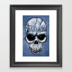 Skull Gaze Framed Art Print