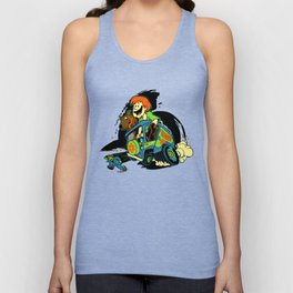 Rat Fink Sc00by D00 Unisex Tank Top