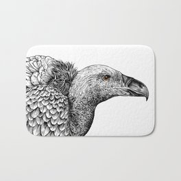 White-backed Vulture Bath Mat