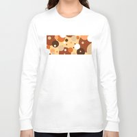 cookies Long Sleeve T-shirts featuring Gammy's Cookies by Naked N Pieces