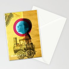 A childhood journey between reality and imagination... Stationery Cards