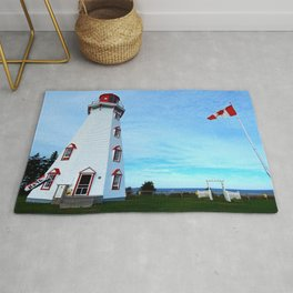Panmure Island Lighthouse and Boat Rug