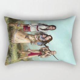 The Cherokee Years Rectangular Pillow