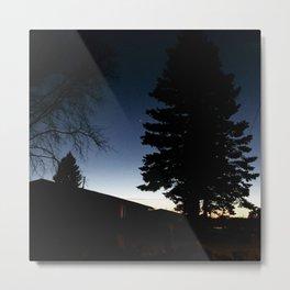 Savory Silhouettes Metal Print