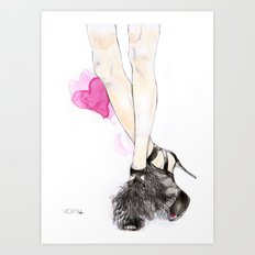 Jimmy Choo Art Print
