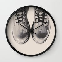 doctor Wall Clocks featuring Doctor Doctor by ReginaRoad