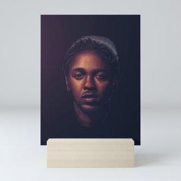 Kendrick Lamar - King of Compton Mini Art Print