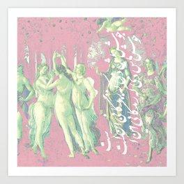 Persian Primavera Art Print