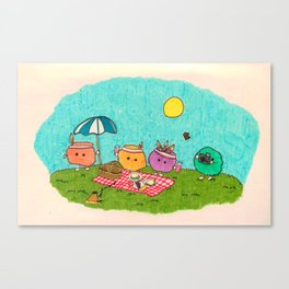Pelu's Spring Canvas Print